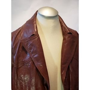 Other - 1970s Vintage Brown Jacket Fight Club Goodfellas